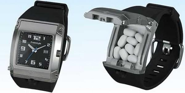 reloj pastillero