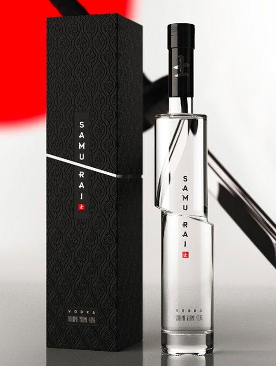 samurai botella