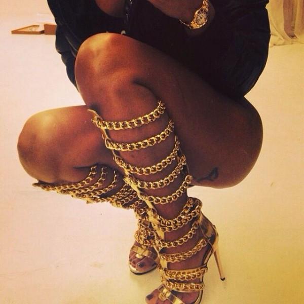 sandalias cadenas