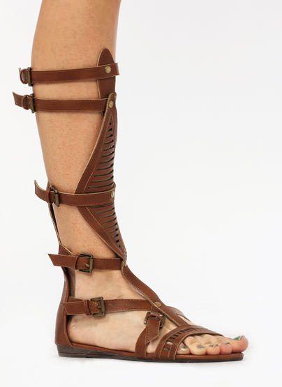 sandalias-de gladiador