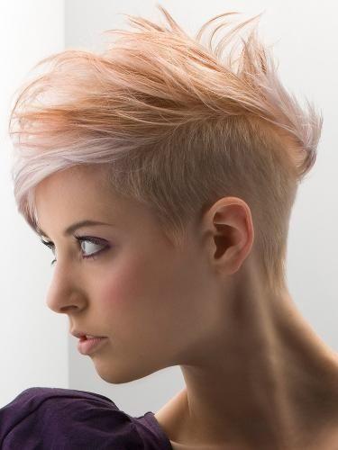 short-hair mujer