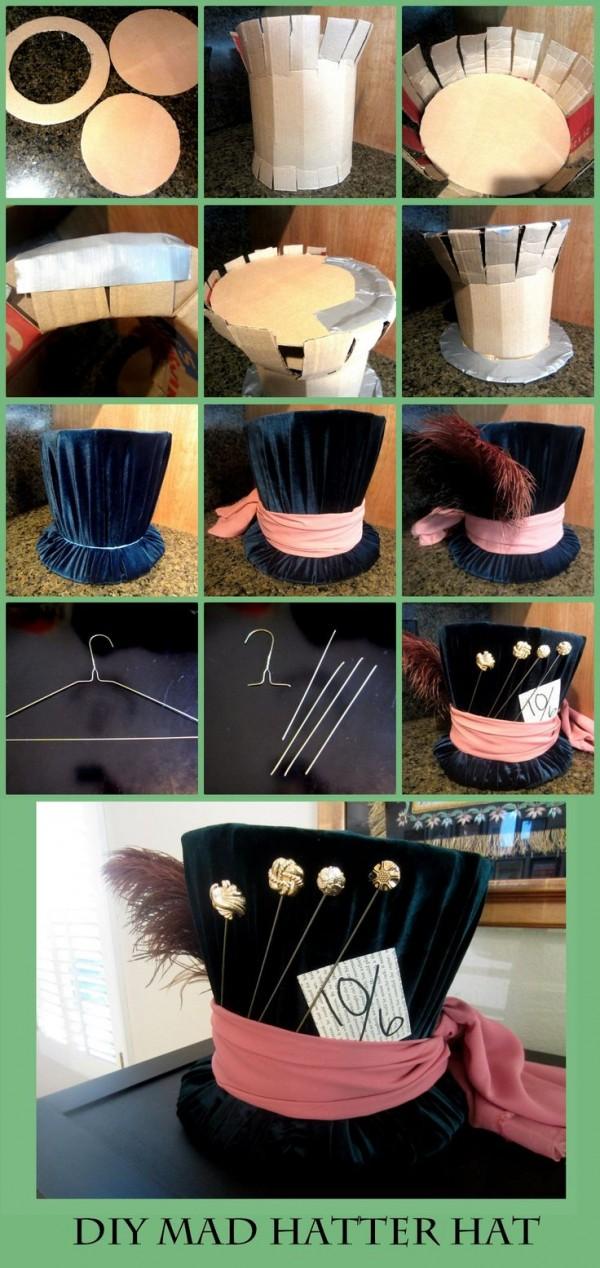 sombrerero diy