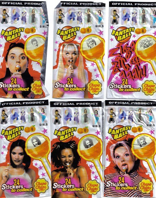 spicegirls paleta