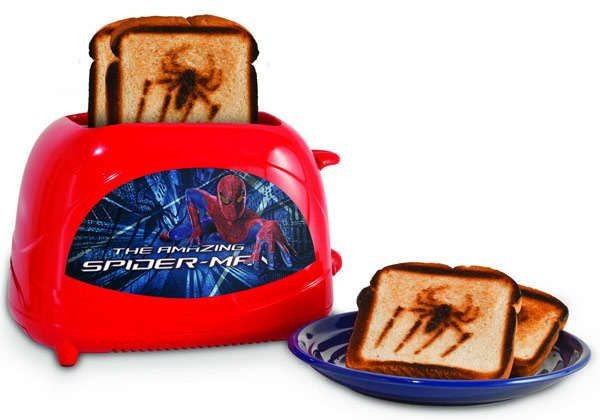 spiderman tostadora