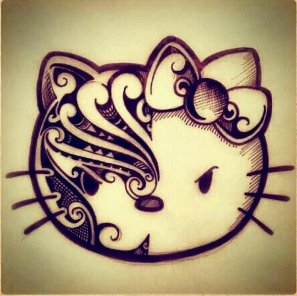 tatuaje kitty