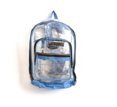 transparente mochila