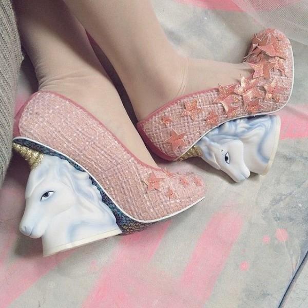 unicornio zapatos