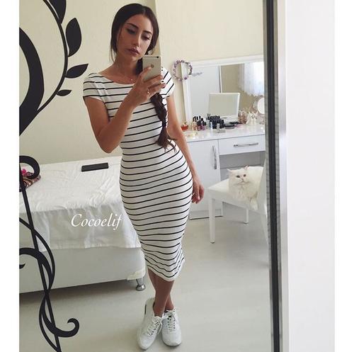 Usar Tenis Con Vestido Es La Combinación Perfecta En Una Mujer