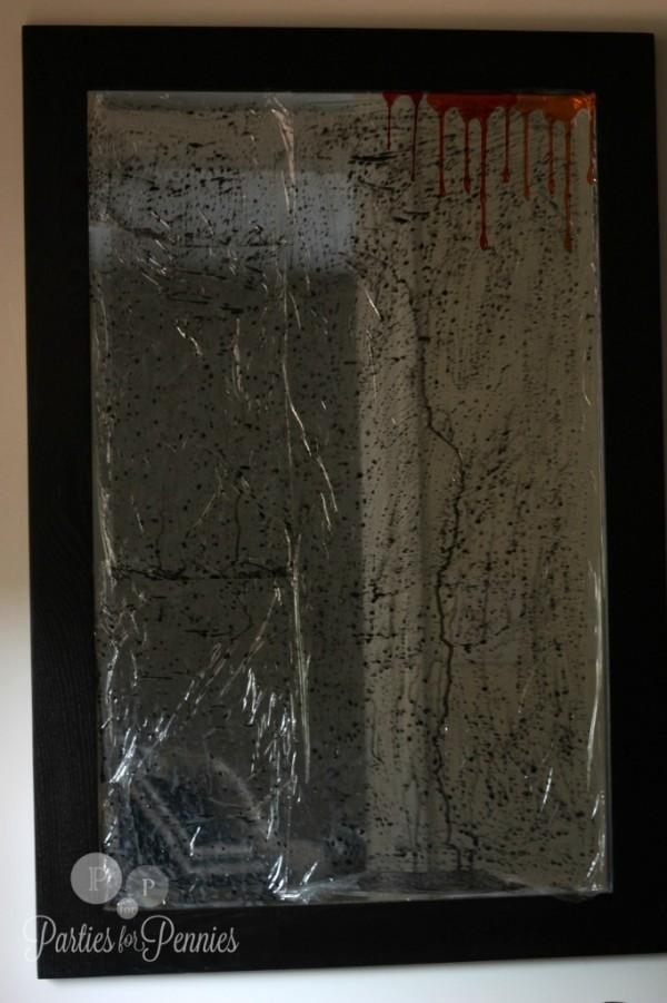 vidrio espejo