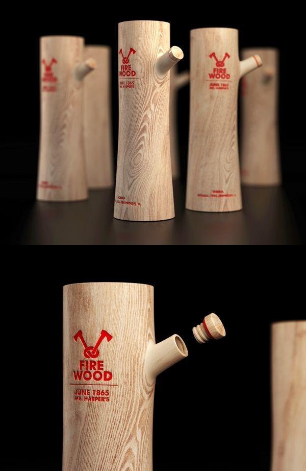 vino botella diseño