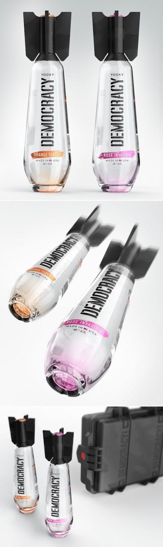 vodkabotella diseño