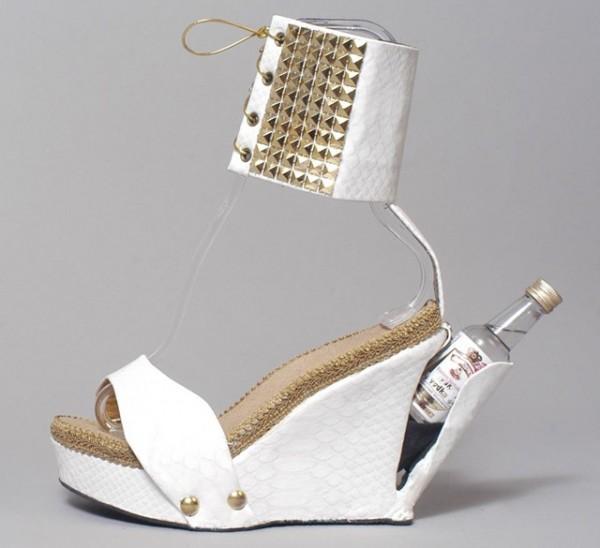 zapato con compartimento