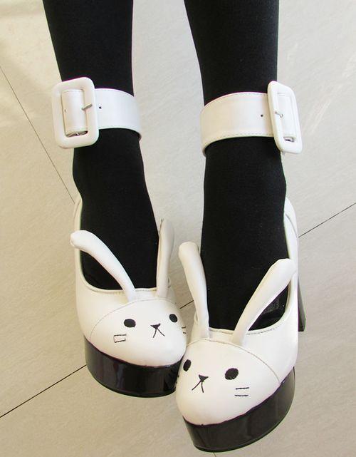 zapatos conejo