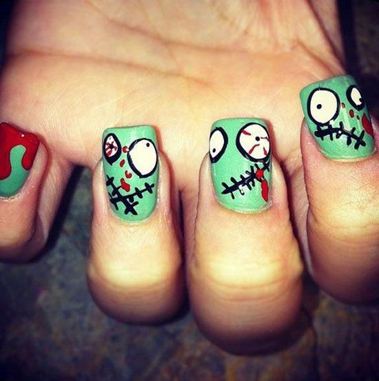 zombie -uñas