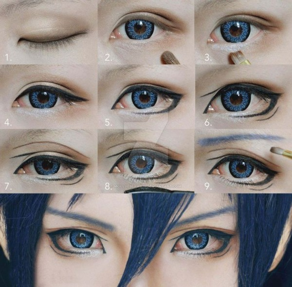 anime ojos