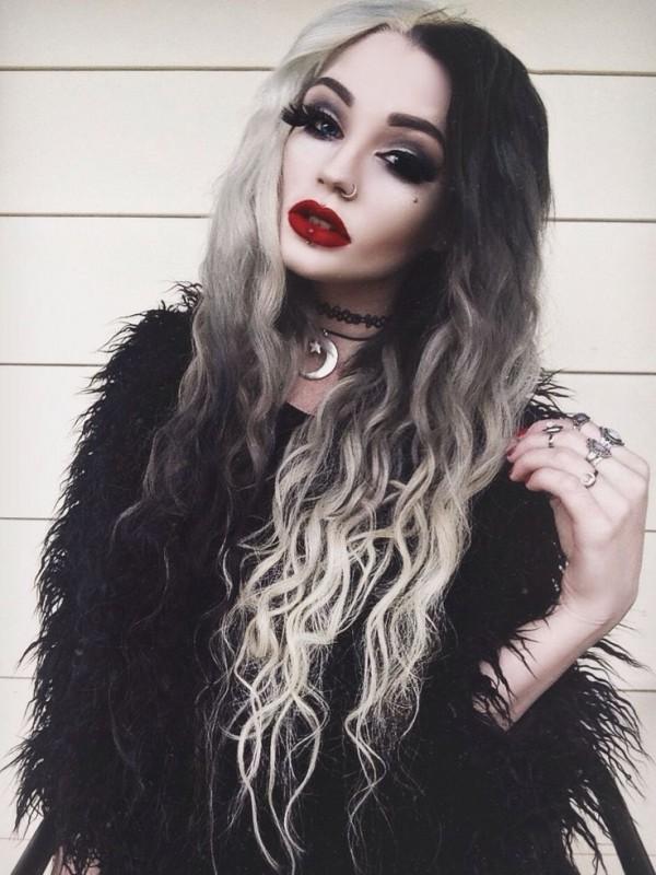 bicolor hair