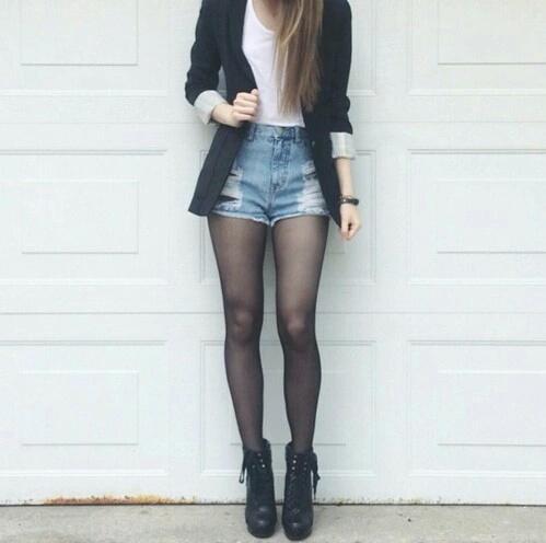 blazer shorts