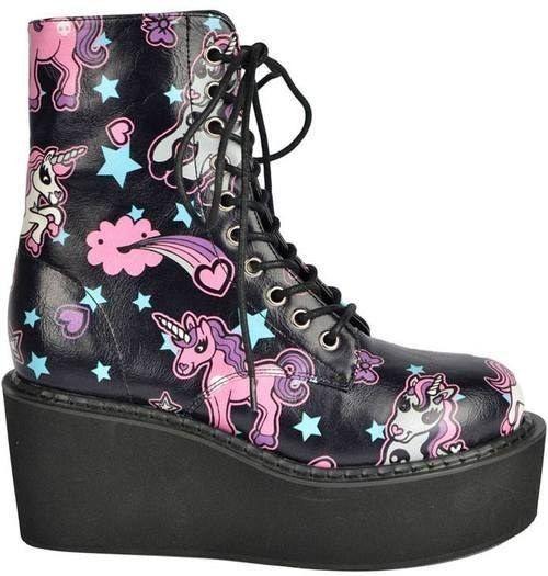 botas unicornio