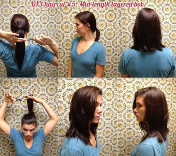 cabello corto diy
