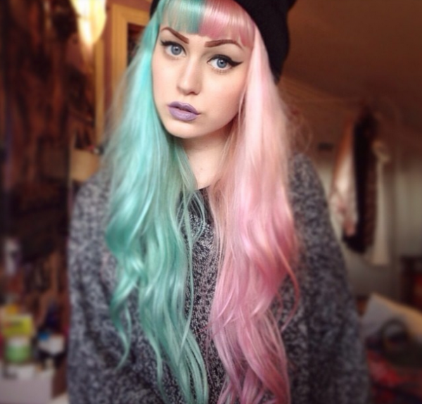 cabello pastel