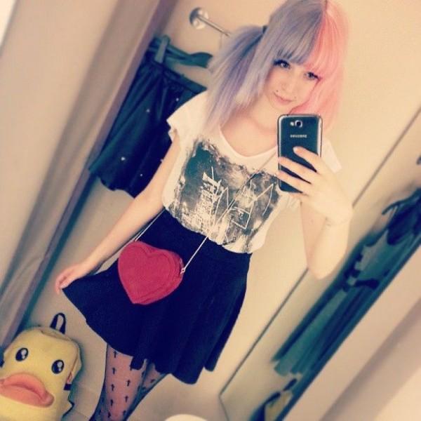 cabello_ bicolor