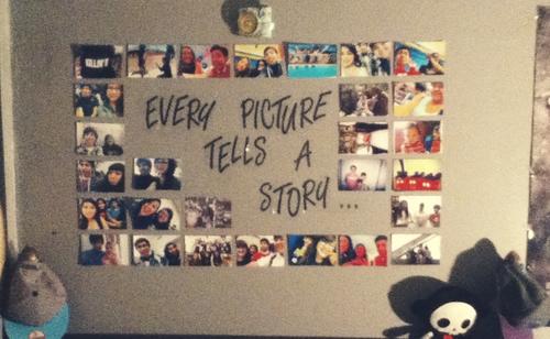 cada foto cuenta una historia