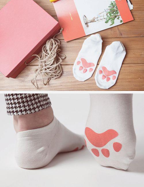 calcetas huellitas