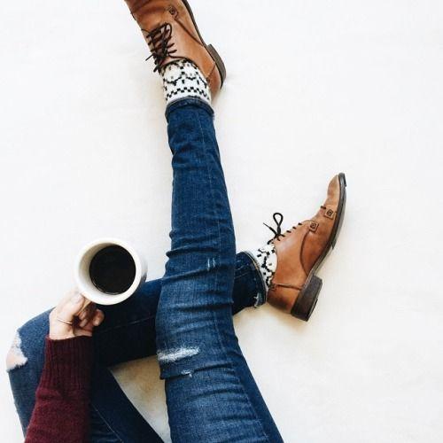 calcetas jeans