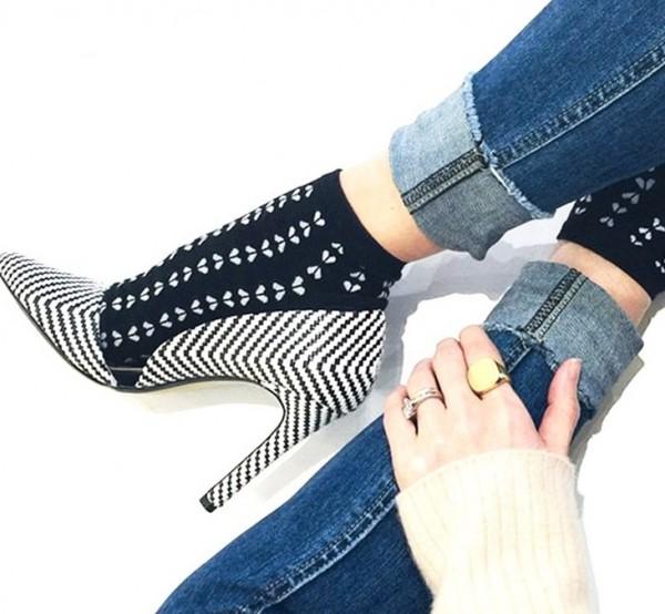 calcetas zapatos