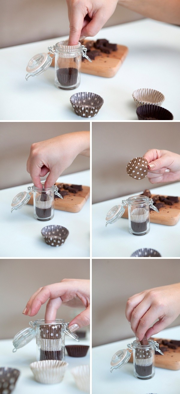 chocolate favour