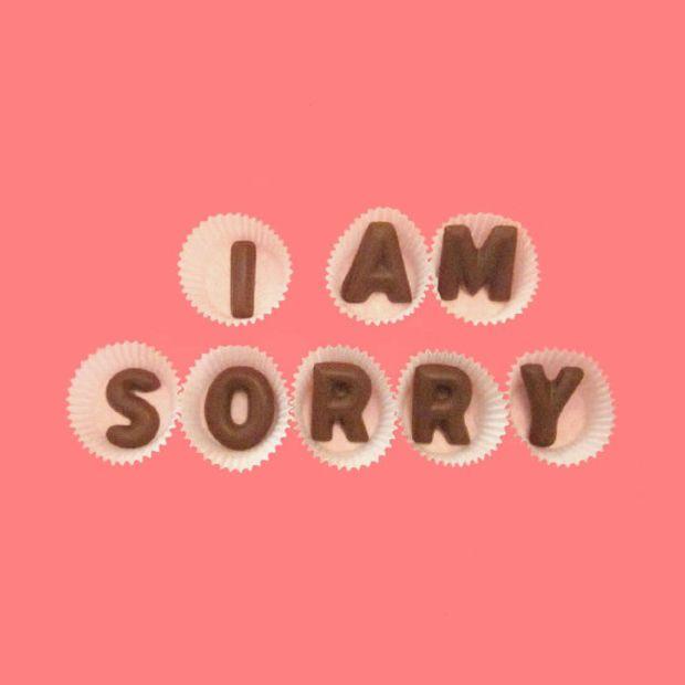 chocolates disculpas