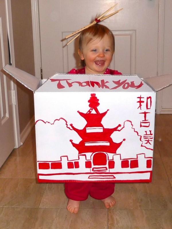 comida china disfraz