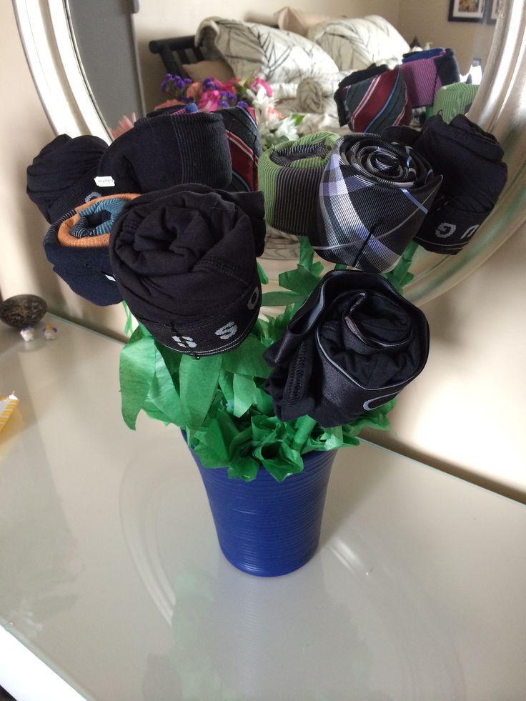 corbatas bouquet