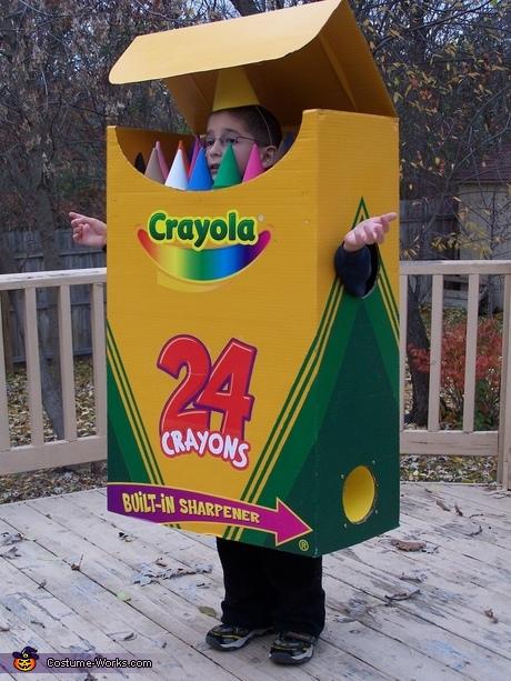 crayola disfraz