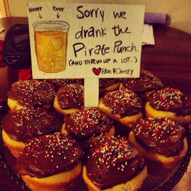 cupcake sorry