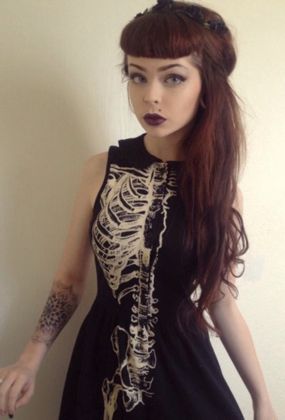 dark vestido