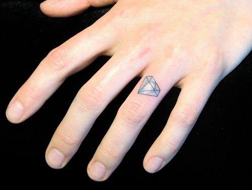 diamante dedo