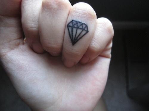 diamante dedos