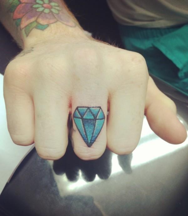diamante mano