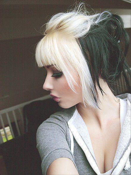 dos tonos cabello