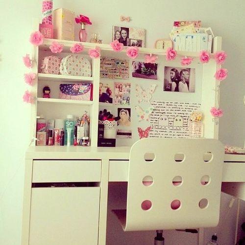 escritorio rosas