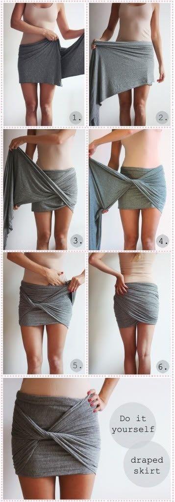 falda bufanda