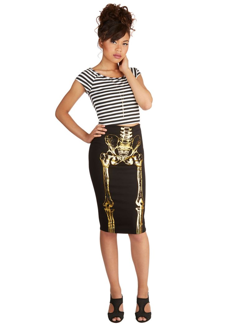 falda esqueleto