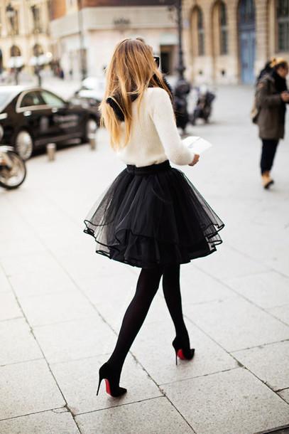 falda medias