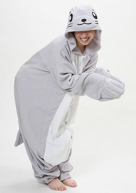 foca pijama