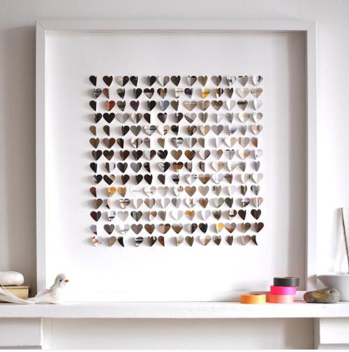 20 ideas que te inspirar n para poner fotos en tu pared for Cuadros para poner fotos