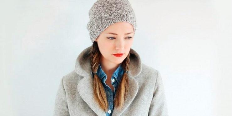 10 Peinados que van perfecto con gorras y gorritos 81e4589f019