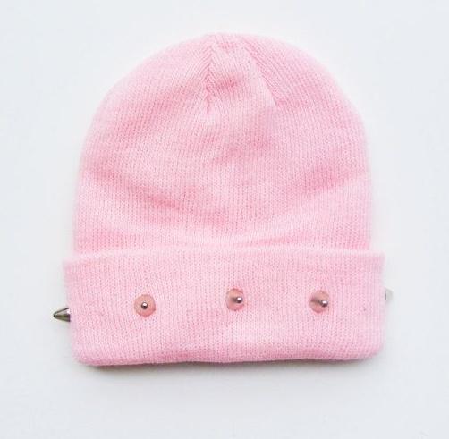 gorrito rosa