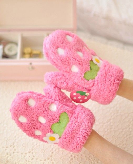 guantes fresa