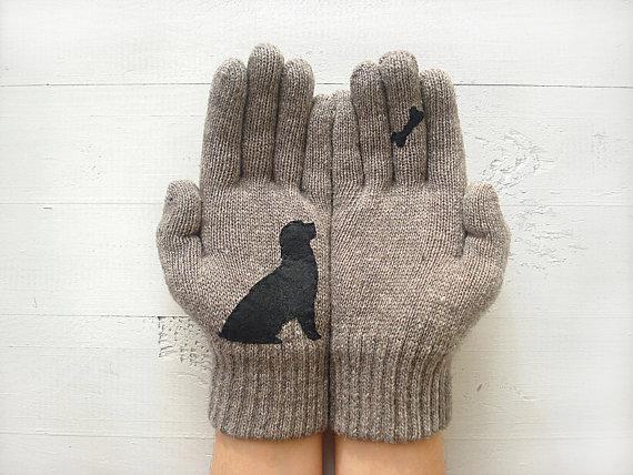 guantes perro
